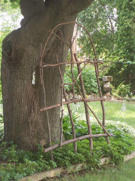Twig Garden Trellises Image