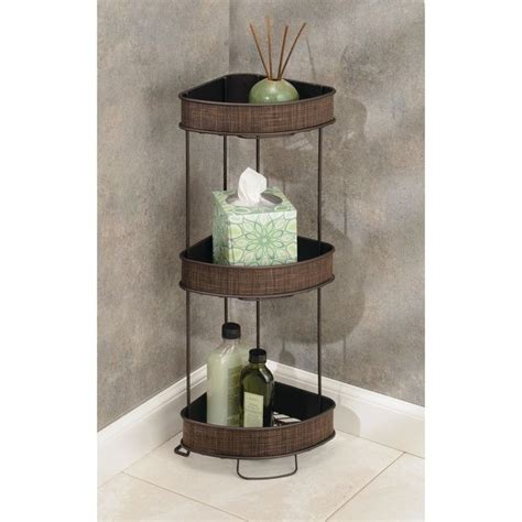 "Twillo 10"" W x 25.5"" H Bathroom Shelf"