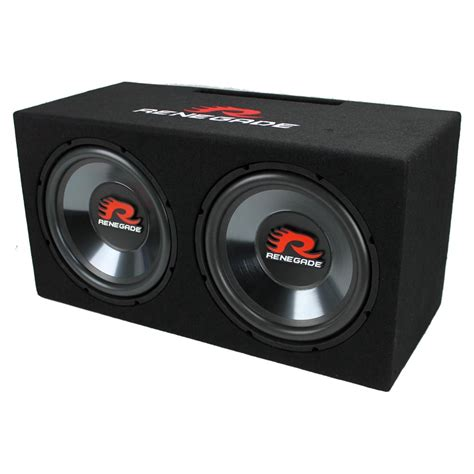 Two 12 Subs On 20 000 Watts