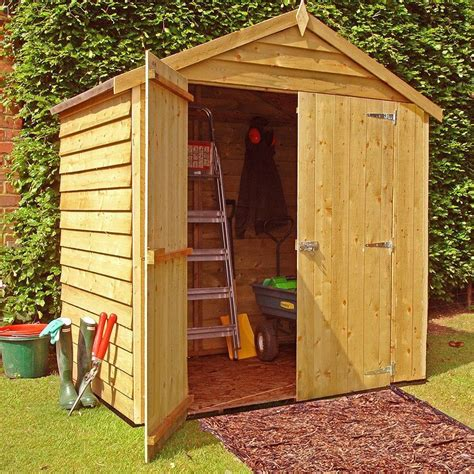 Two door garden sheds Image