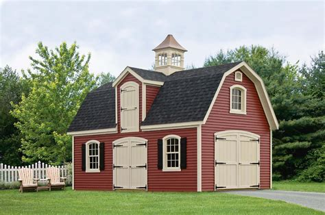 Two story garden shed Image