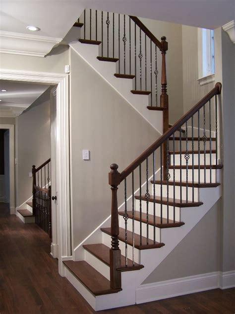 U Shaped Stairs Design