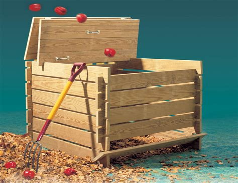 Ubild composting bins woodworking plan Image