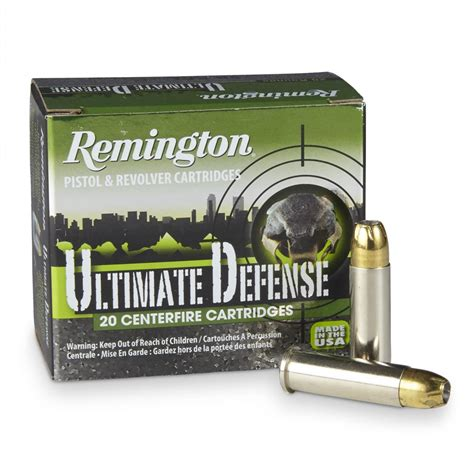 Ultimate Defense 38 SPL Remington Ammunition HD38SBN