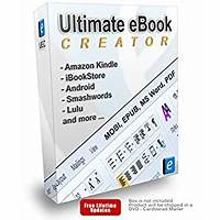 Ultimate ebook creator amazon kindle mobi epub word pdf secret codes