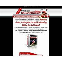 Coupon for ultimate speed development