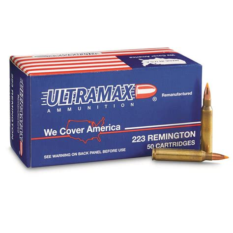 Ultramax 223 Remington Bulk Ammo