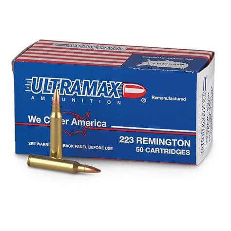 Ultramax Ammo 223 Review