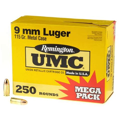 Umc 9mm Ammo 250 Rounds Review