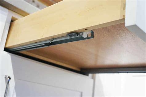 Under drawer glides Image