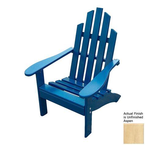 Unfinished adirondack chairs lowes Image
