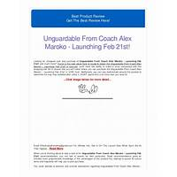 Unguardable from coach alex maroko launching feb 21st! online tutorial