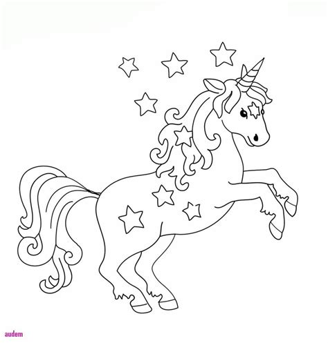 Unicorn Malvorlagen Kostenlos Gratis