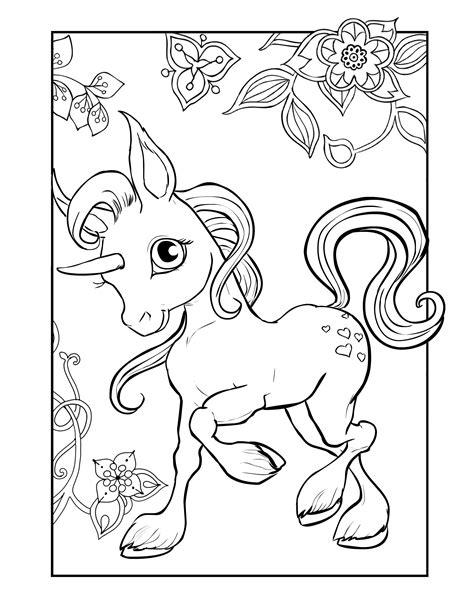 Unicorn Malvorlagen Pdf