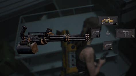 Unlimited Ammo Mini Gun Re2
