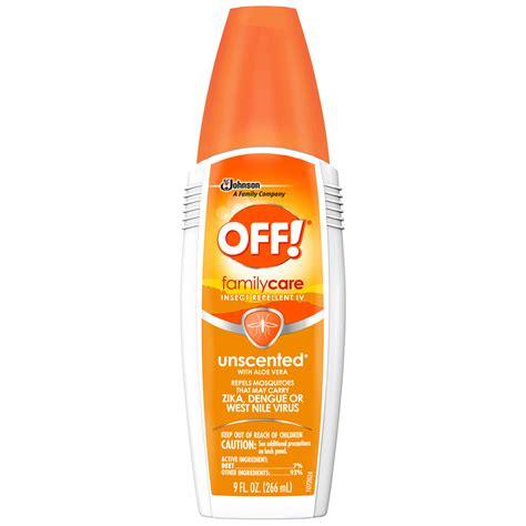 Unscented Mosquito Repellent