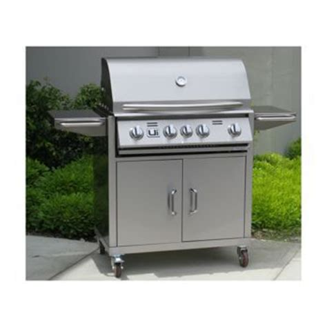 Urban islands 4 burner barbeque cart Image
