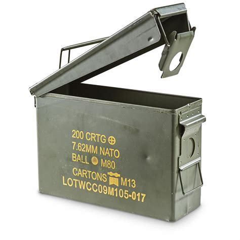 Us Mil 30 Cal Ammo Can