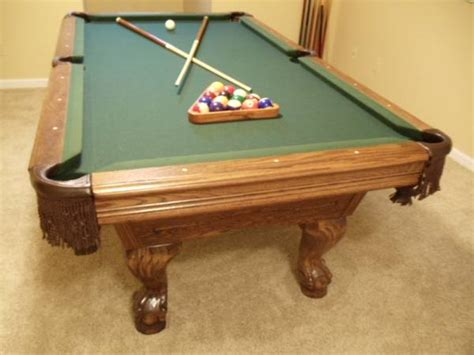 used pool tables birmingham al