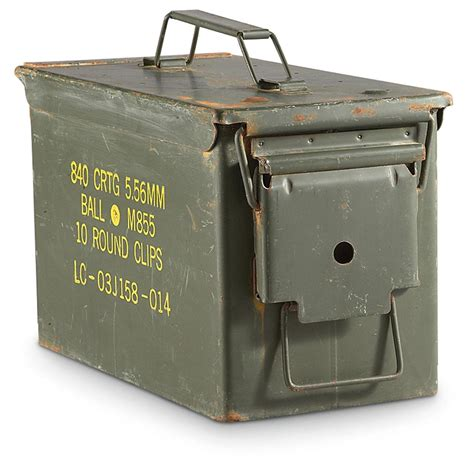 Used Military Ammo Cans