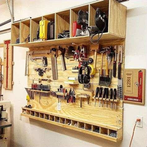 Used woodworking shop tools Image