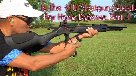 Using A 410 Shotgun For Home Defense