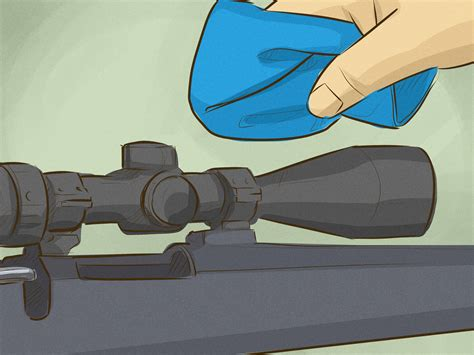 Using A Rifle Scope For Shooting