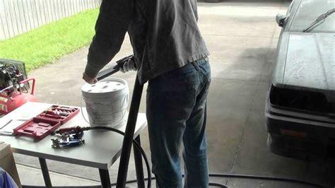 Using Acetone To Clean Paint Gun