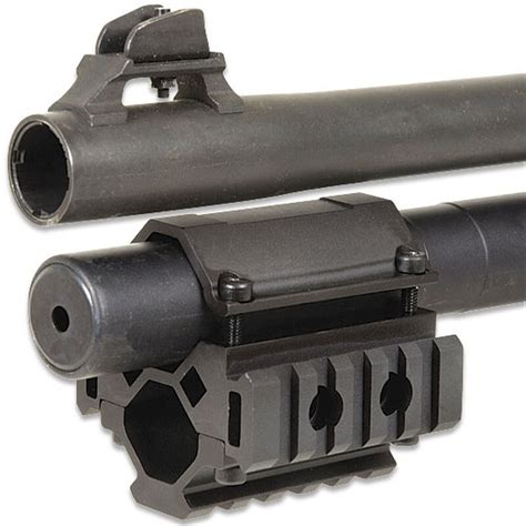 Utg Universal Trirail Shotgun Barrel Mount 5 Slots