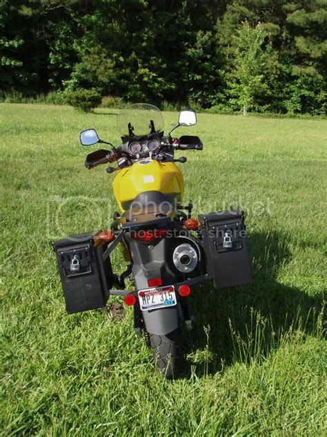 V Strom Ammo Can Panniers