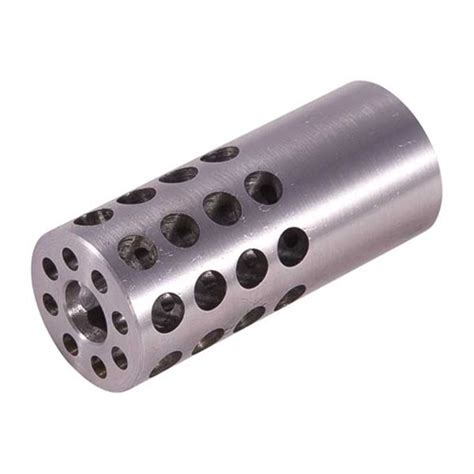 Vais Muzzle Brake 30 Caliber Muzzle Brake 30 Caliber 1232 Chrome Moly Silver