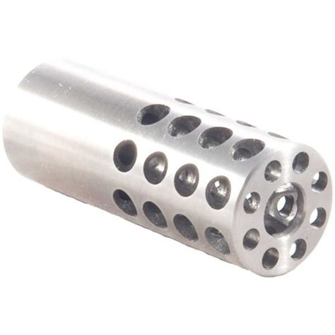 Vais Muzzle Brake 35 Caliber Muzzle Brake 35 Caliber 91632 Stainless Steel Silver