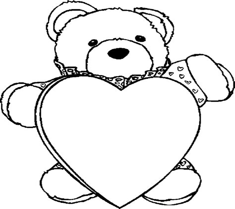 Valentinstag Malvorlagen Zum Ausdrucken Bilder