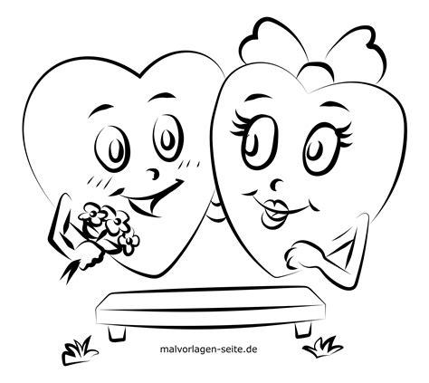 Valentinstag Malvorlagen Zum Ausdrucken Kostenlos