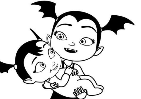 Vampirina Malvorlagen Download