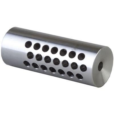 Varmint Muzzle Brake 22 Caliber 1 228 Chrome Moly Silver