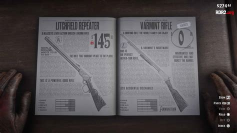 Varmint Rifle Ammo In Red Dead 2 Keeps Dissapearing