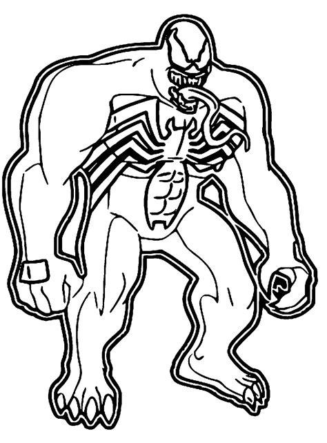 Venom Malvorlage
