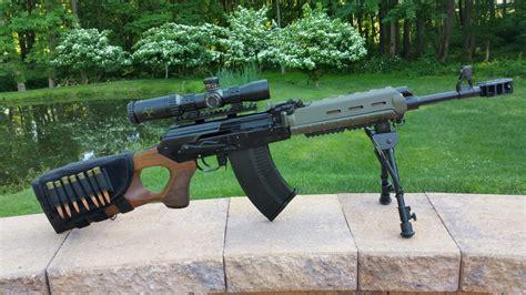 Vepr Tactical Sniper Rifle 7 62 X54