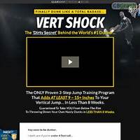 Guide to vertical jump training: vert shock re bill upsell insane conversions