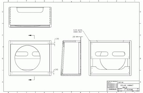 Vibroverb cabinet plans Image