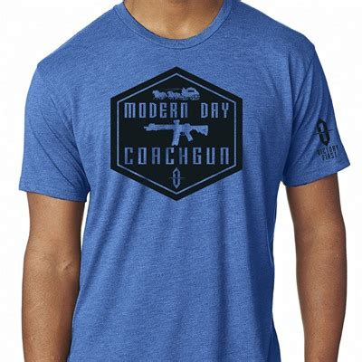 Victory First Mens Shield Style Modern Day Coachgun Tshirts Shield Style Modern Day Coachgun Tshirt Military Green Lg