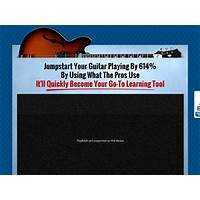 Buy video surgeon: the hottest guitar learning tool on the market today!