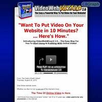 Video web wizard 2 software put video on any website in 10 minutes specials