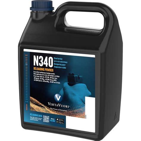 Vihtavuori N340 Smokeless Pistol Powder N340 Smokeless Powder 4 Lbs