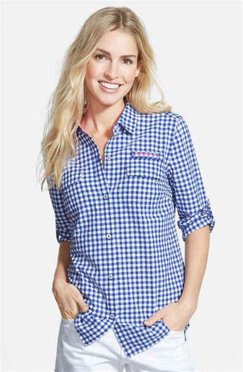 Vineyard Vines Fishing Shirt Women S