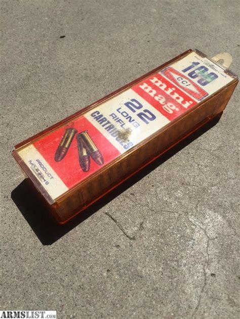 Vintage Cci Mini Mag Ammo For Sale