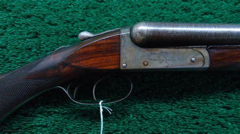 Vintage Remington Double Barrel Shotgun And Wolf Engraved Double Barrel Shotgun