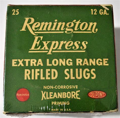 Vintage Remington Express Shotgun Slugs