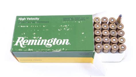 Vintage Remington High Velocity 22 Rem Jet Ammo For Sale